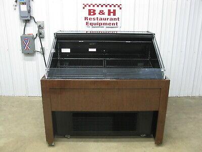 Hussmann Q2-ss-n-4-s Open Air Deli Produce Berry Display Case Refrigerator