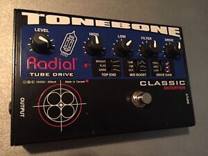 Radial tube overdrive by Tonebone