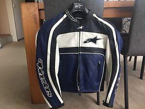Alpinestars Leather Jacket - never used Albert Park Port Phillip Preview