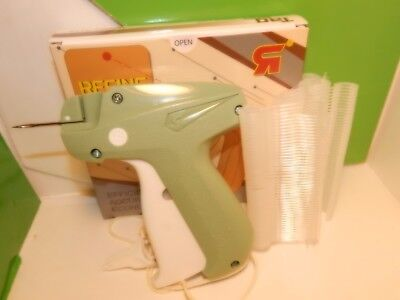 Clothing Socks Price Label Tagging Tag Tagger Gun With 500 J Hooks