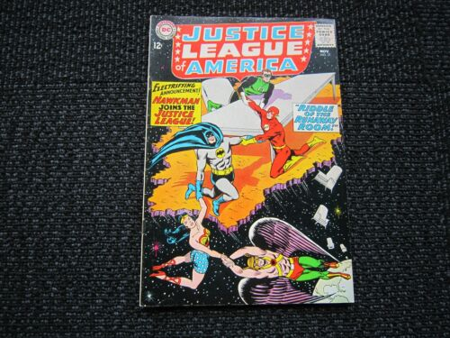 Justice League of America #31 - 1964, VF-, Hawkman joins