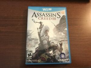 Assassins Creed III and Assassins Creed IV - Wii U
