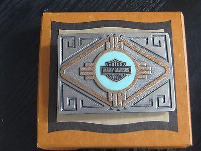 Harley DavidsonSouthwestern Bar & Shield Belt Buckle