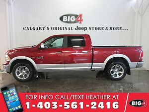 2015 Ram 1500 Laramie CREW, Tow Package, air ride!, leather,