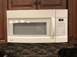 Microwave oven  - over the range