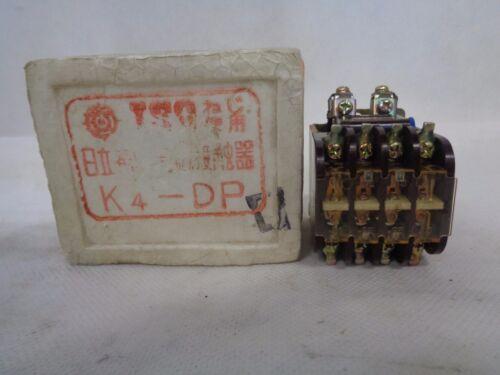 NEW HITACHI K4-DPD CONTACTOR 4-POLE DC48V COIL