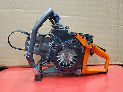 Husqvarna K750 Concrete Pro Steel Cut Off Chop Saw Cln Lo Hr Bad Top End Bearing