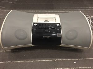 Sharp Audio Systen with IPod/iPhone dock w/Remote