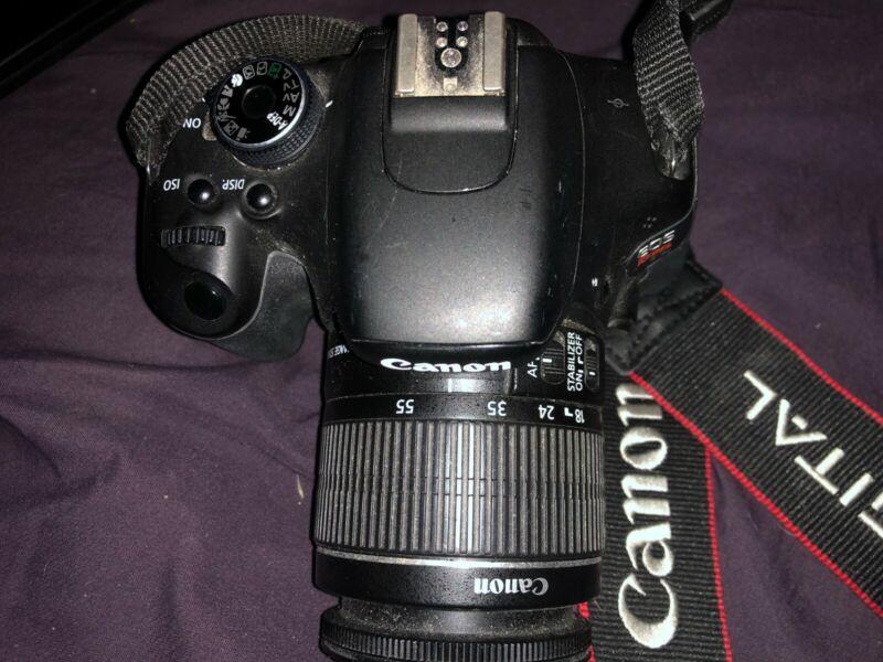 Canon EOS Rebel T3i 18.0MP Digital SLR Camera - Black