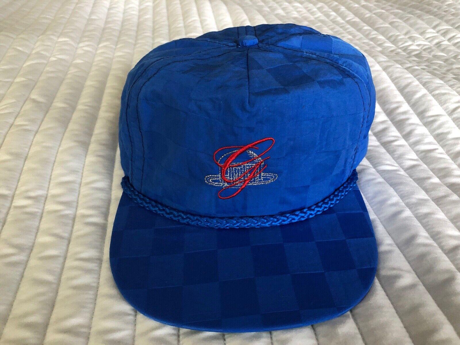 The Greenbrier Golf Cap Hat The Greenbrier Resort Greenbrier Logo Blue New USA - $11.90