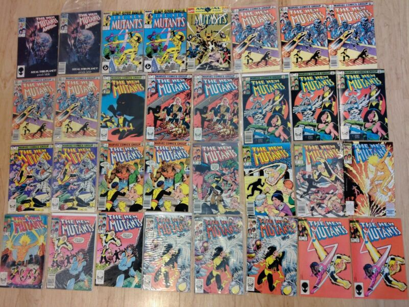 New Mutants 1-100 Pick Your Issue!! Cheap combined Shipping