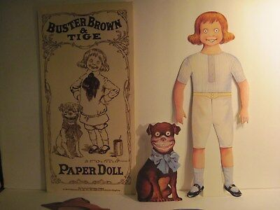 BUSTER BROWN & TIGE PAPER DOLLS
