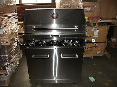KitchenAid 5-Burner Liquid Propane Grill in Stainless Steel  - Local PU in NJ