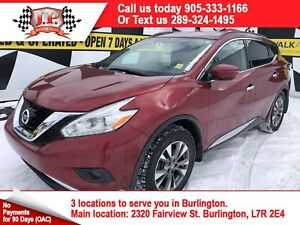 2017 Nissan Murano SV, Automatic, Leather, Panoramic Sunroof, AW