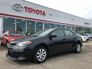 2014 Toyota Corolla LE, One Owner, Local Corolla, Back Up Camera