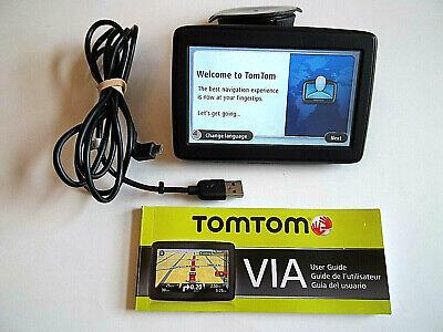 """TomTom VIA 4EN52 Car Navigation 4.3"""" GPS Bundle w/Mount, USB Cord & User Guide"""