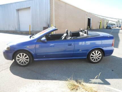 2002 Holden Astra Bertone Manual LOW KM - 2 Door Convertible Wangara Wanneroo Area Preview