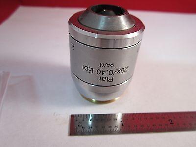 Microscope Objective Reichert Austria 20x Polycon Epi Infinity Optics Bn11-dt-b