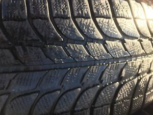 Jeep Wrangler winter tires and steelies 265/70/R17