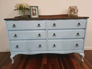 Vintage dresser refurbished