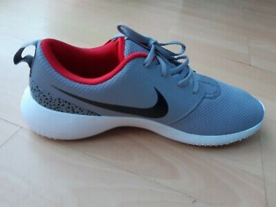 Nike ROSHE G Size 11UK Golf Shoes Cement Grey/Black/White (NEW)