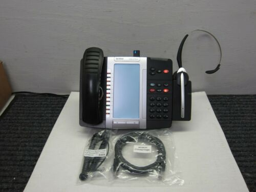Mitel 5330e VoIP Dual Mode Gigabit Phone W/ Cordless Headset (20 in stock)