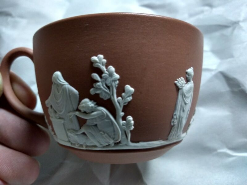 Wedgwood Vintage Terracotta Tea Cup mint condition