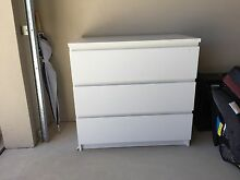 White IKEA chest of drawers Beaconsfield Fremantle Area Preview