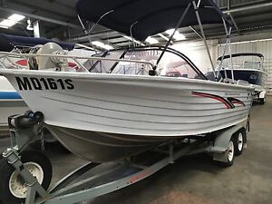 Quintrex 560 Quinnie Classic Yamaha 115hp Blair Athol Port Adelaide Area Preview