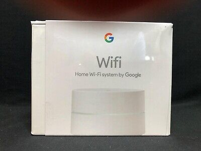 NEW Google Home Wifi System Mesh Router 1-Pack White AC-1304 GA00157-US
