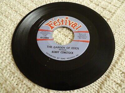 BOBBY COMSTOCK  THE GARDEN OF EDEN/JUST A PIECE OF PAPER  FESTIVAL 25000 TEEN - The Piece Of Eden