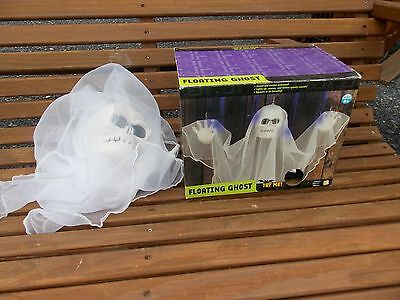 Gemmy Floating Ghost Zombie Animated Halloween Prop Haunted House IN BOX