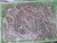 Nails Zinc Gold 40 Boxes for $120 Northcote Darebin Area Preview