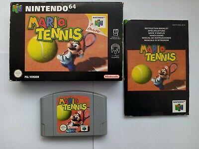 Mario Tennis - Boxed - Nintendo 64 - N64
