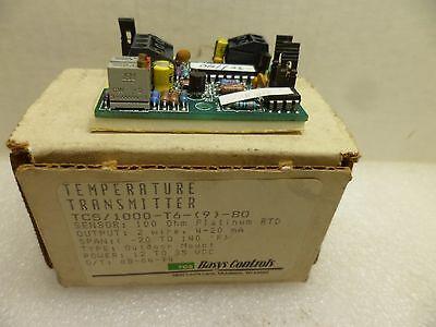 Basys Controls Tcs1000-t6-9-bo Temperature Transmitter Input 12-35 Vdc Nos