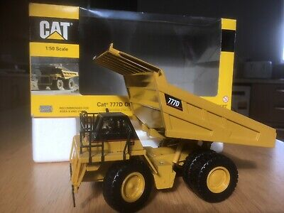 Norscot 1/50 Scale diecast 55104 Cat 777D Off Highway Truck Plant