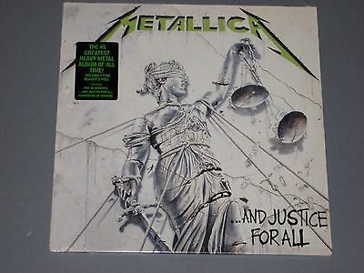 METALLICA And Justice for All 2 LP New Sealed Vinyl
