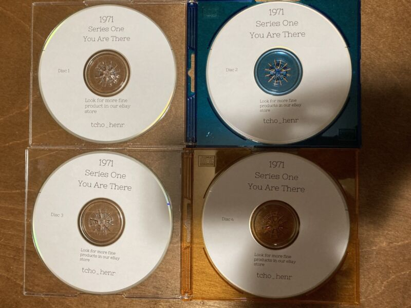 1971 Vintage Radio Broadcasts On 8 MP3 CDs