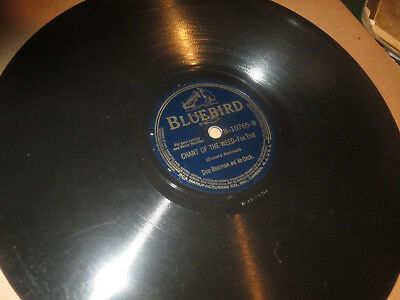 78RPM Bluebird Don Redman, Chant of the Weed (Marijuana) / Shim Me Sha clean V