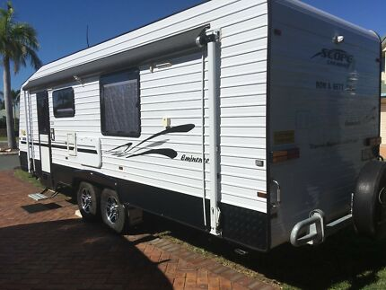 """Scope 23ft semi off road 2"""" riser caravan Redcliffe Redcliffe Area Preview"""
