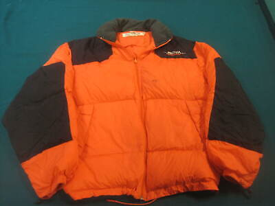 VTG 90s NAUTICA COMPETITION XL ELEVATION 8000 DOWN PUFFER COAT JACKET sz LARGE