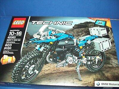 Lego 42063 Technic Bmw R 1200 Gs Adventure Dirt Bike Motorcycle Motocross Nib