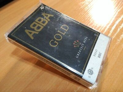 ABBA GOLD Greatest Hits cassette tape from Portugal