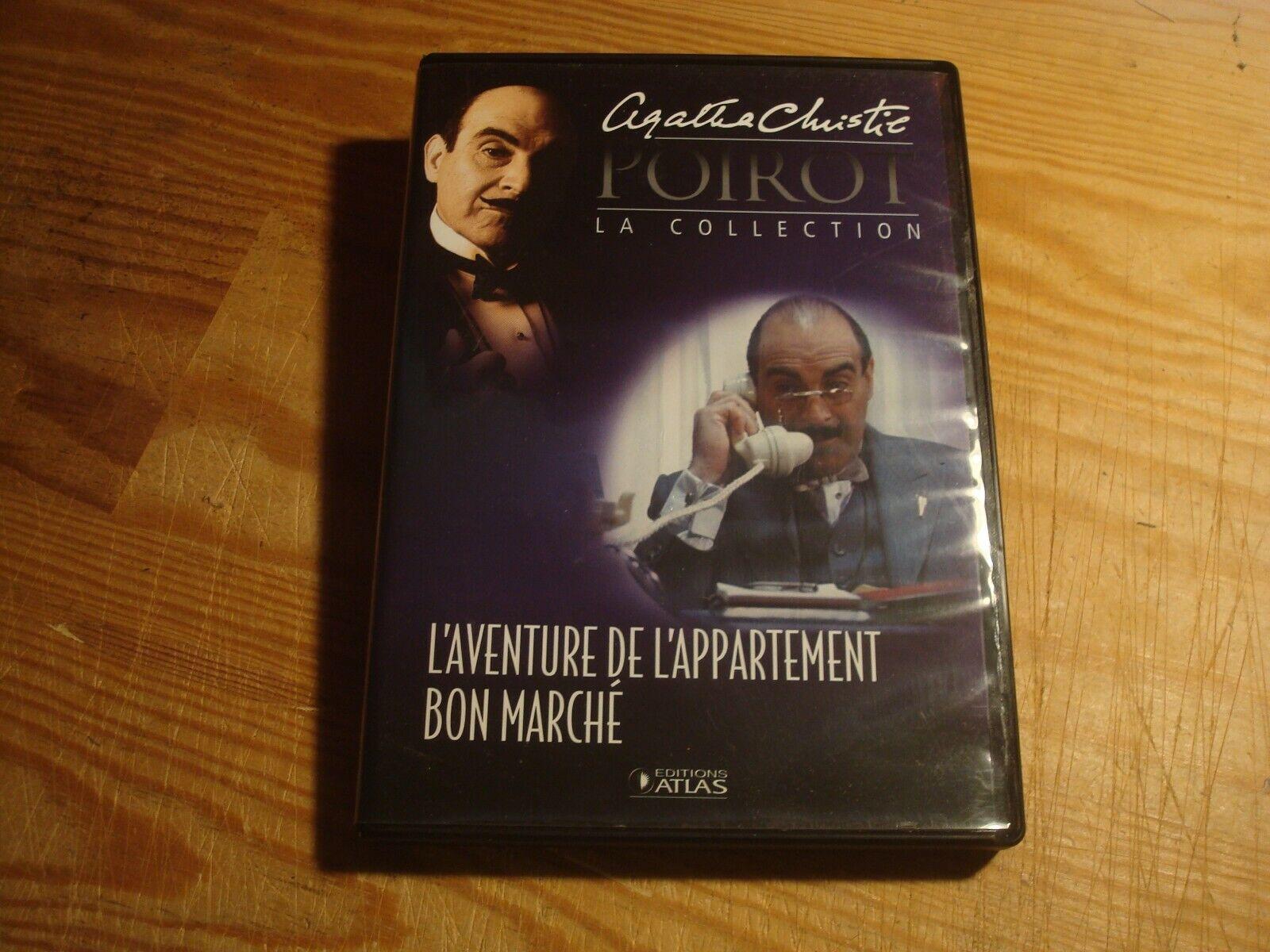 Dvd : hercule poirot - n°38 - l' aventure de l' appartement bon marche // a c