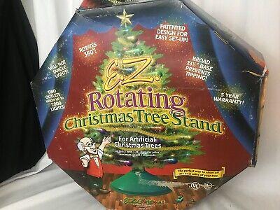 EZ Christmas Rotating Christmas Tree Stand Model #111