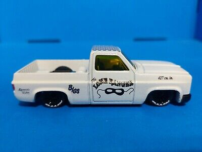 Hot Wheels '83 Chevy Silverado CUSTOM Loose The Lone Ranger. 1/64 scale