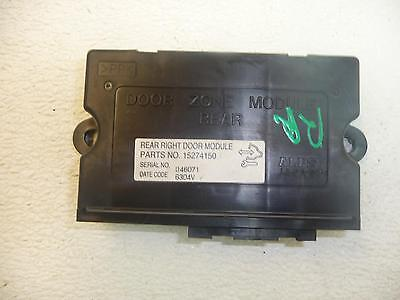 05-11 STS Chassis Brain Box Passenger Right Rear Door Module IC 7243 15274150
