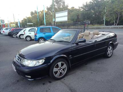 2002 Saab 9-3  Convertible - Low Kms (94k) - Long Rego - Driveaway Birkdale Redland Area Preview