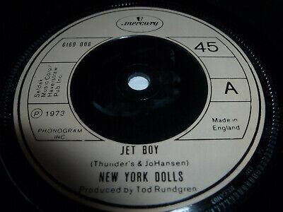 """NEW YORK DOLLS-Jet Boy JOHNNY THUNDERS VINYL 7"""""""
