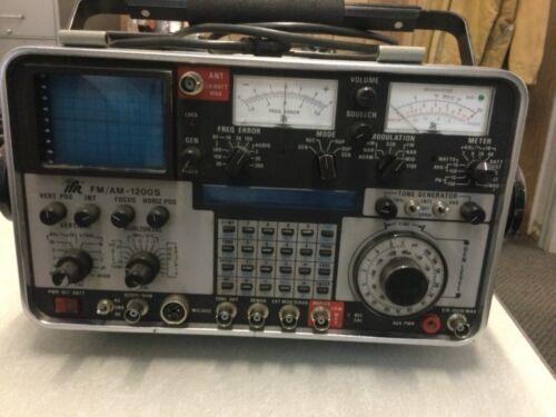 IFR FM/AM 1200S Communications Service Monitor Spectrum Analyzer Parts HAM
